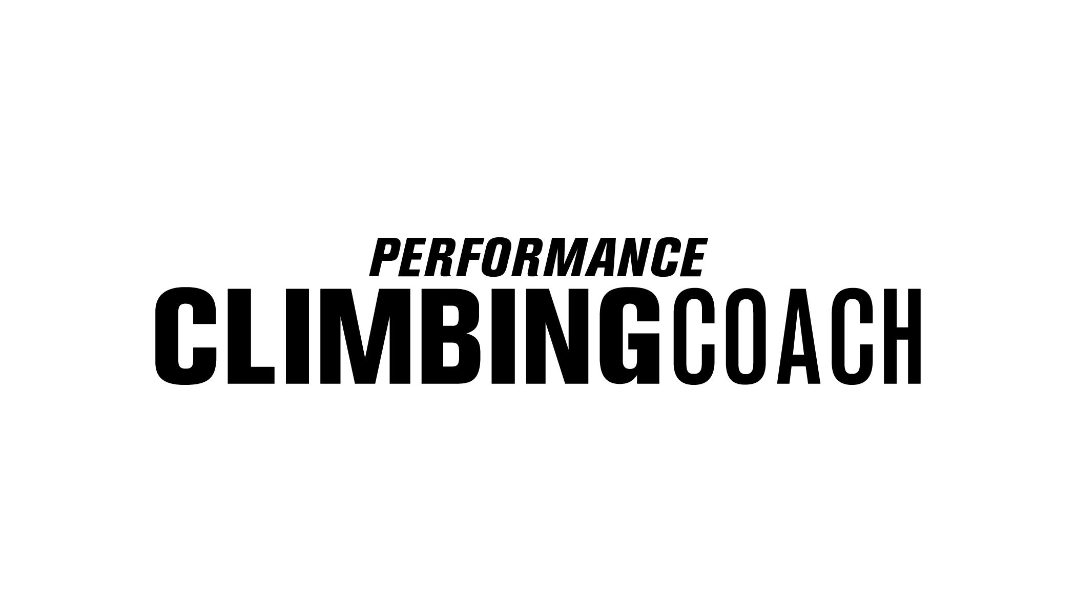 Performance Climbing Coach grey